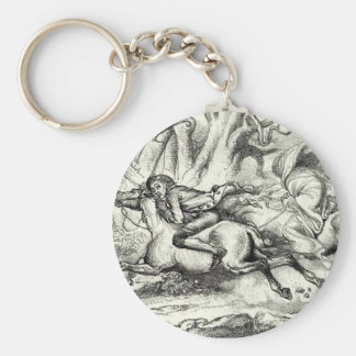 Ichabod Crane Running Away Keychain