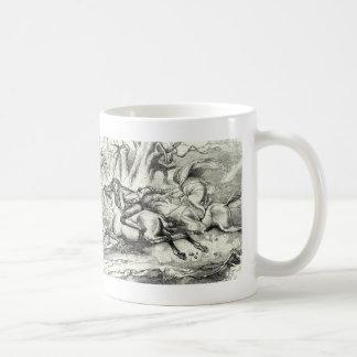 Ichabod Crane Running Away Coffee Mugs