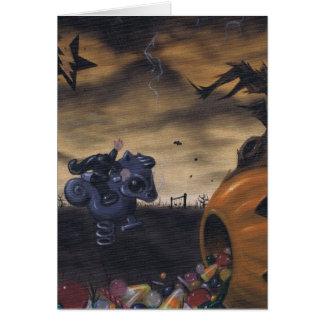 ichabod's treat greeting card