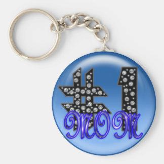ichi-ban mama 3 basic round button keychain
