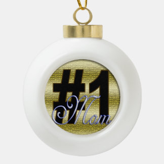 ichi-ban mama ceramic ball christmas ornament