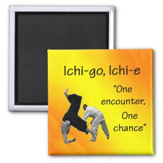Ichi-go Ichi-e 2 Inch Square Magnet