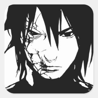 Ichi Kanoe character range Square Sticker