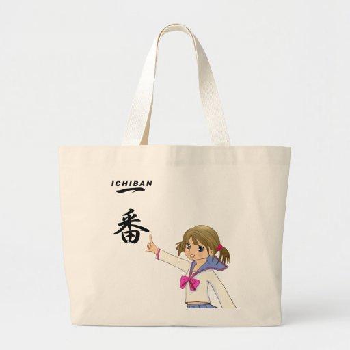 ICHIBAN BLACK  Sera Fuku MOE GIRL Canvas Bag