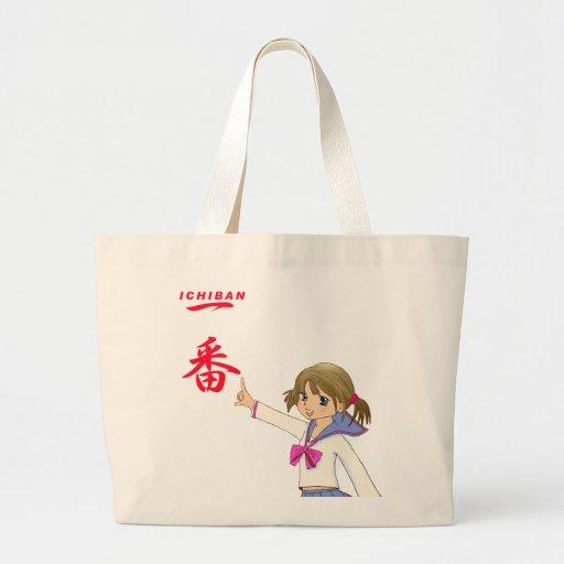 ICHIBAN Sera Fuku MOE GIRL Canvas Bags