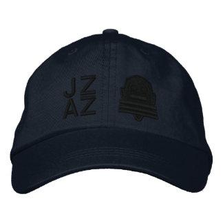 Ichibo-Skee Clupkitz Jazz Black on Blue Baseball Cap