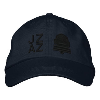 Ichibo-Skee Clupkitz Jazz Black on Blue Embroidered Baseball Cap
