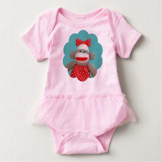 Ichigo the Sock Monkey Baby Tutu Bodysuit