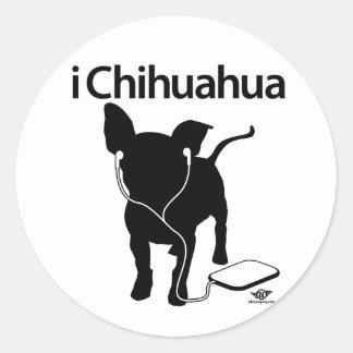 iChihuahua! Classic Round Sticker