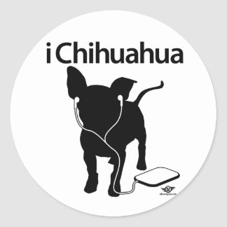 ¡iChihuahua! Pegatina Redonda