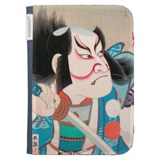 Ichikawa Danjuro kabuki samurai warrior tattoo art Case For The Kindle
