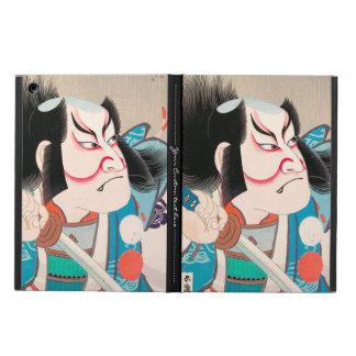 Ichikawa Danjuro kabuki samurai warrior tattoo art Case For iPad Air