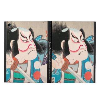 Ichikawa Danjuro kabuki samurai warrior tattoo art iPad Air Case