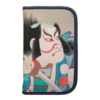 Ichikawa Danjuro kabuki samurai warrior tattoo art Planners