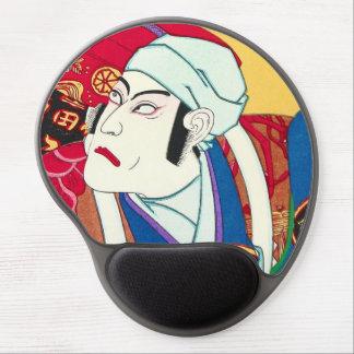 Ichikawa Danjuro - kunisada del utagawa del retrat Alfombrilla De Ratón Con Gel