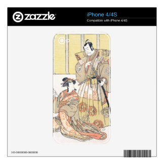 Ichikawa Danjûrô V as Kûdo no Suketsune, and Nakam iPhone 4 Skin