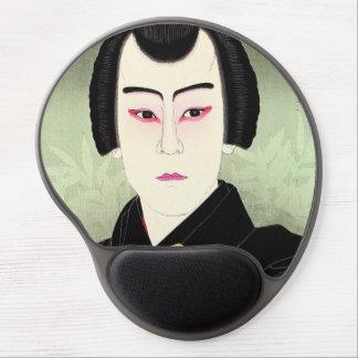 Ichikawa Sumizö como Shirai Gonpachi Natori Shunse Alfombrilla Con Gel