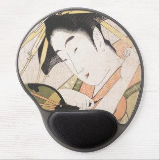 Ichirakutei Eisui una señora oriental japonesa de  Alfombrilla De Ratón Con Gel