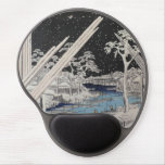 Ichiryusai Hiroshige Alfombrilla De Ratón Con Gel