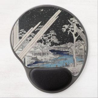 Ichiryusai Hiroshige Alfombrilla Para Ratón De Gel