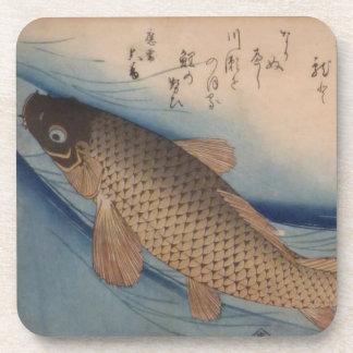 Ichiryusai Hiroshige Coaster