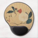 "Ichiryusai Hiroshige Gel Mouse Pad<br><div class=""desc"">An ogi-e fan print showing a camellia flower and a magnolia bud and flower. This appears to be the only surviving example of this design having been rescued from an actual fan. Published by Maruya Seijiro, 1852. Hiroshige only designed a few ogi-e format fans, most being in the round uchiwa-e...</div>"