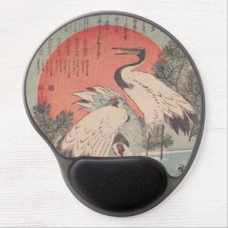 Ichiryusai Hiroshige Gel Mouse Mat