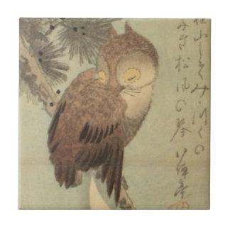 Ichiryusai Hiroshige Tile