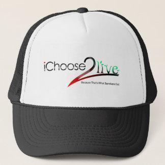 iChoose2live Trucker Hat