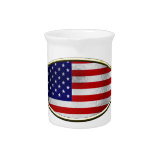 Ichthus - American Flag Drink Pitchers