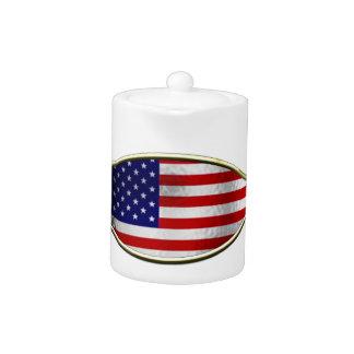 Ichthus - American Flag