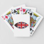 Ichthus - bandera británica baraja de cartas