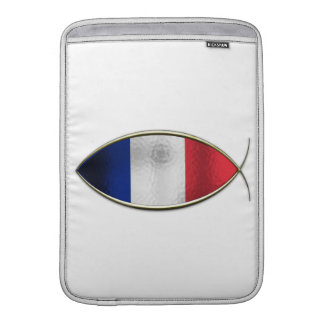 Ichthus - bandera francesa fundas macbook air