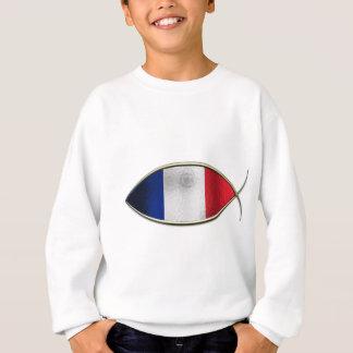 Ichthus - bandera francesa poleras