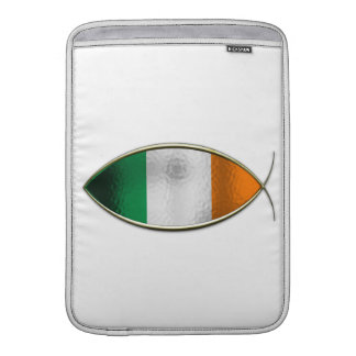 Ichthus - bandera irlandesa fundas MacBook