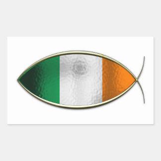 Ichthus - bandera irlandesa rectangular altavoces