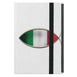 Ichthus - bandera italiana iPad mini carcasa