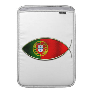 Ichthus - bandera portuguesa funda  MacBook