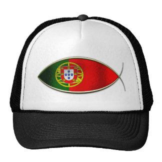 Ichthus - bandera portuguesa gorra