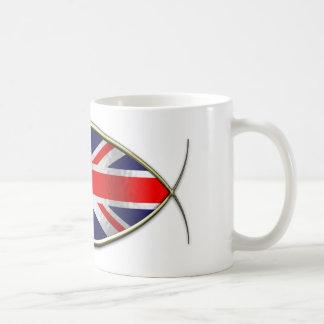 Ichthus - British Flag Coffee Mug
