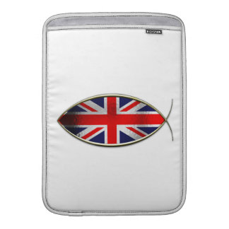 Ichthus - British Flag Sleeves For MacBook Air