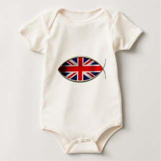 Ichthus - British Flag Romper