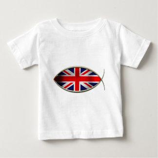 Ichthus - British Flag Tee Shirt