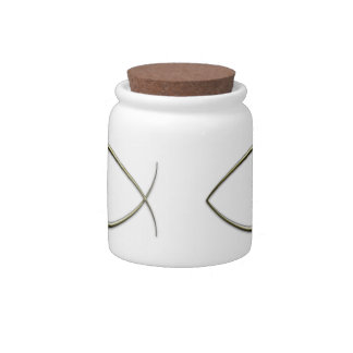 Ichthus Candy Jars