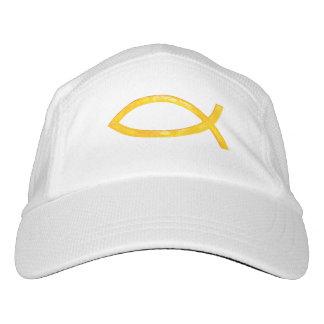Ichthus - Christian Fish Symbol Headsweats Hat