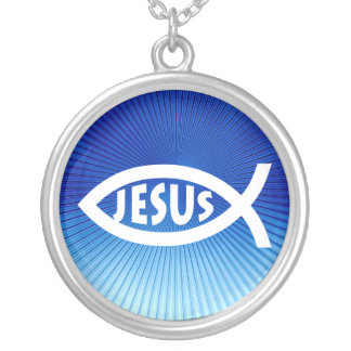 Ichthus - Christian Fish Symbol - Necklace