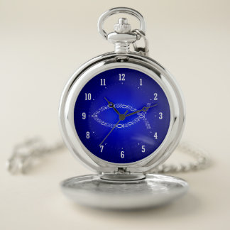 Ichthus | Christian Fish Symbol - Small Fishes Pocket Watch