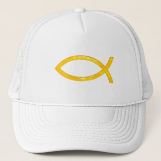 Ichthus - Christian Fish Symbol Trucker Hat