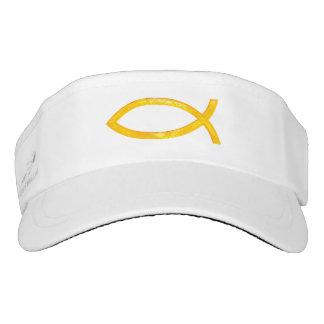 Ichthus - Christian Fish Symbol Visor