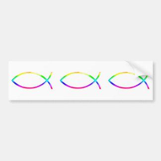 Ichthus - Christian Fish Symbols Bumper Sticker